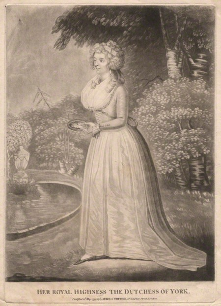 """Frederica Charlotte Ulrica Catherina, Duchess of York and Albany"" published by Robert Laurie, published by  James Whittle"