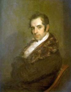 Painting of Irving by John Wesley Jarvis, 1809 (Wikimedia Commons, public domain)