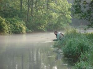 Fishing on Letort