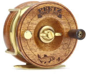 The fly reel, as featured on the PEETZ website.