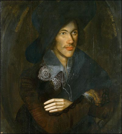 John Donne, c. 1595. Artist unknown.
